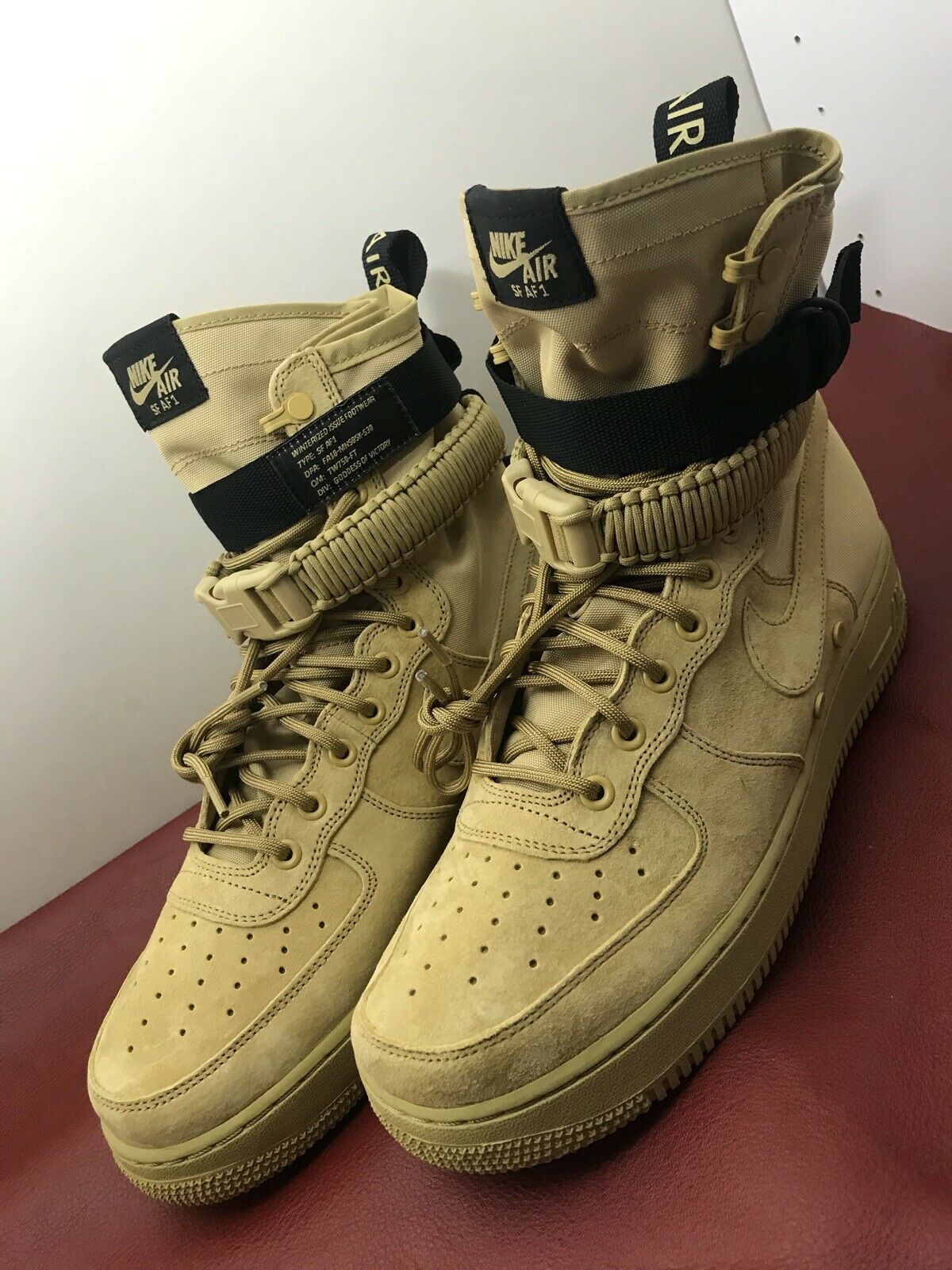 Nike SF AF1 High Air Force 1 Special Field Men's Dimensione 10