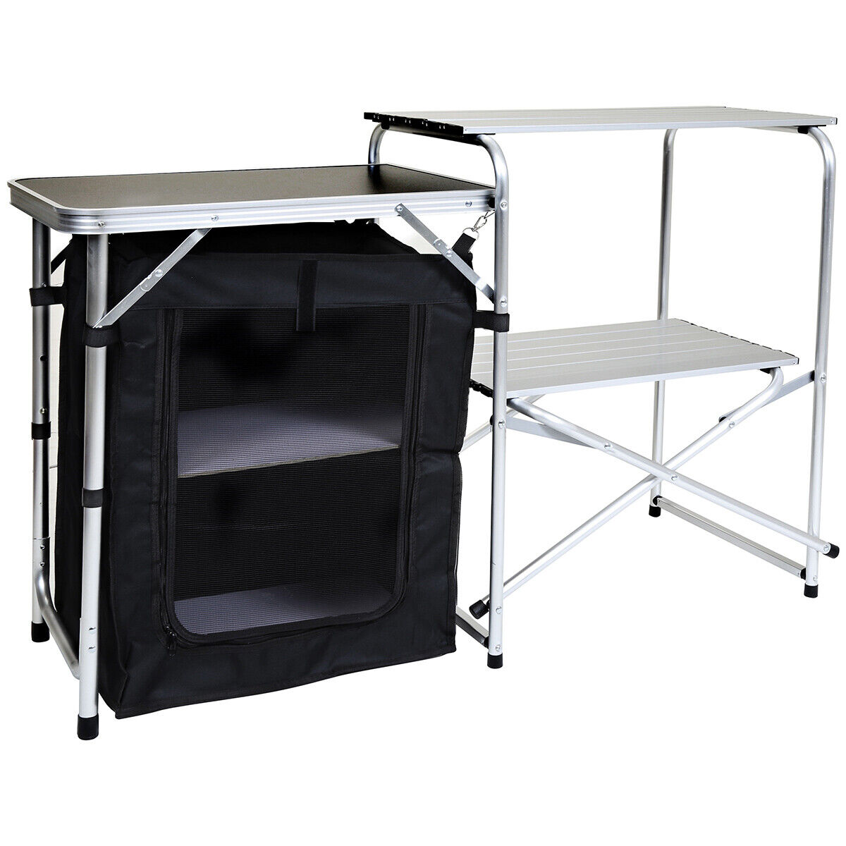 Charles Bentley Odyssey Folding Small Camping Kitchen Stand Storage Unit Cooking For Sale Online Ebay