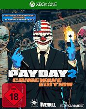 Xbox One Payday 2 Crimewave Day One Edition - Neues Xbox-Spiel