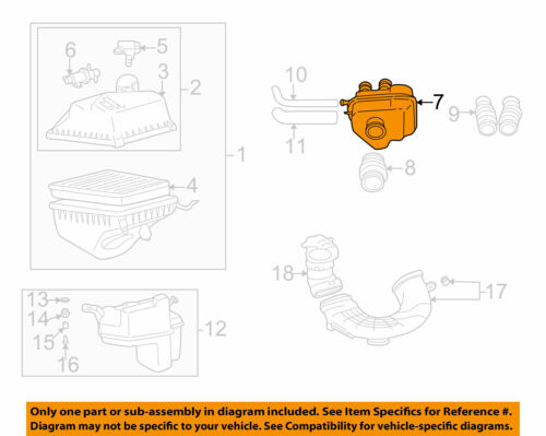 TOYOTA OEM 00-04 Avalon Air Intake-Upper Resonator 178930A060 REPLACEMENT