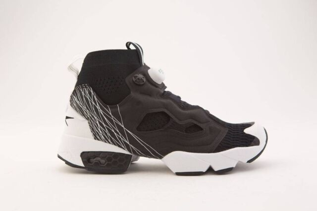 Blanco ego cinta  Reebok Insta Pump Fury OG ULTK TL Ultraknit Black White Men Shoes Sneaker  Bs8159 10 for sale online | eBay