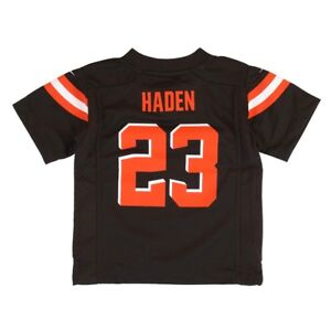 Details about Joe Haden Cleveland Browns Nike Home Brown Toddler Game Jersey (2T-4T)
