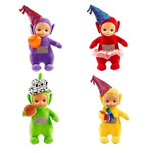 Party-Teletubbies-Talking-Plush-Soft-Toy-Tinky-Winky-Laa-Laa-Po-OR-Dipsy-NEW
