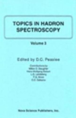Topics in Hadron Spectroscopy, Hardcover by Peaslee, D. C. (EDT), Like New Us...