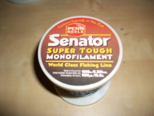 Penn Senator Super Mono Fishing Line 1000m Spools HalfPrice 10,12,20,25,30/&50lbs