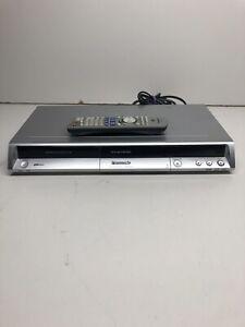 Panason-DMR-ES15-DVD-Recorder-Silver-With-Remote