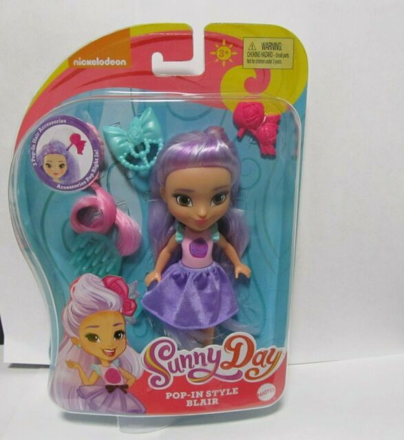 Sunny Day Cindy Pop-In Style Doll 6 Mattel