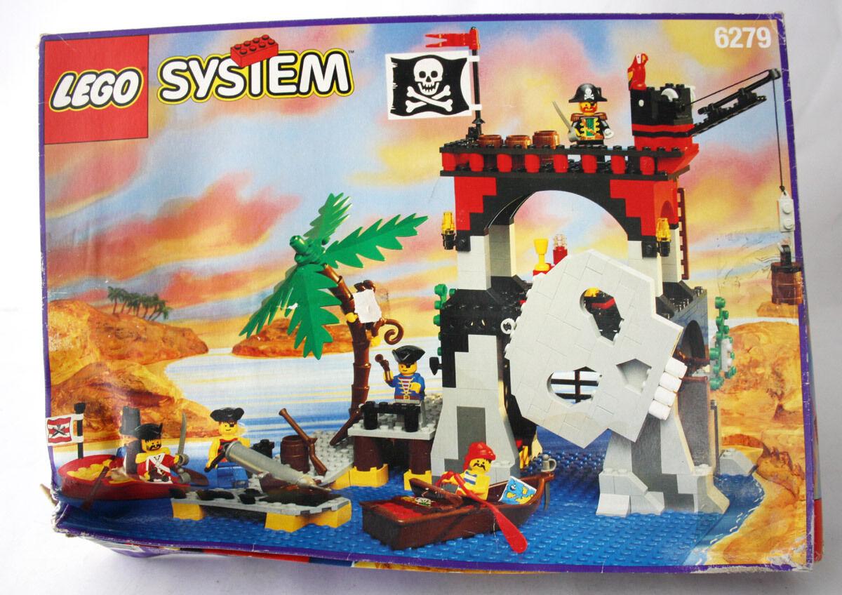RARE VINTAGE 1995 LEGO SYSTEM 6279 PIRATES SKULL ISLAND NEW MIB