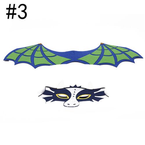 Kids Animal Capes Wings and Felt Mask Dinosaur Costume for Children SK