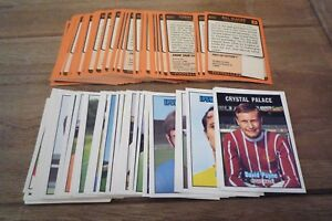 A&BC Orange Back Football Cards 1970 - 2nd Series VGC! - Pick Cards You Need