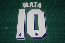 Chelsea 11/12 #10 MATA UEFA Chaimpons League / FA Cup Final Nameset Printing
