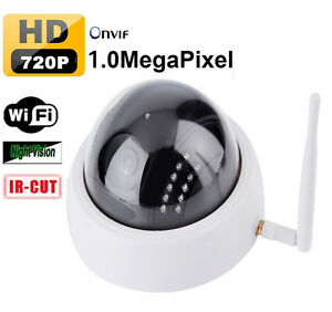 720p dome ip kamera wifi funk nachtsicht. Black Bedroom Furniture Sets. Home Design Ideas