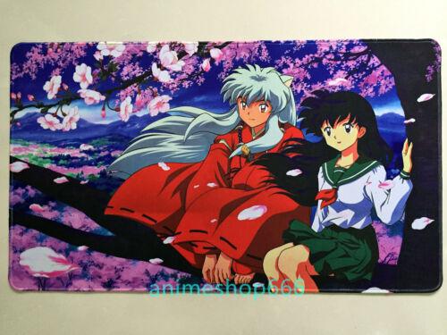 Inuyasha Anime MTG VG Mat Game Mouse Pad Custom Playmat Free shipping #2