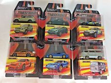 MATCHBOX BEST OF MATCHBOX 2016-2017 SET OF 6 BMW LAMBORGHINI VOLKSWAGEN