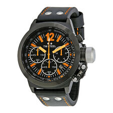 TW Steel Canteen 45  Chronograph Black Dial Mens Watch CE1029R