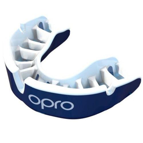 OPRO Mundschutz Gold blau-weiß