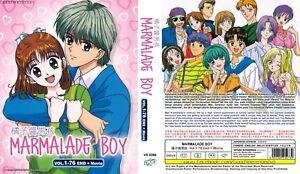 ANIME-DVD-Marmalade-Boy-1-76End-Movie-English-subtitle-amp-All-region-FREE-SHIPPING