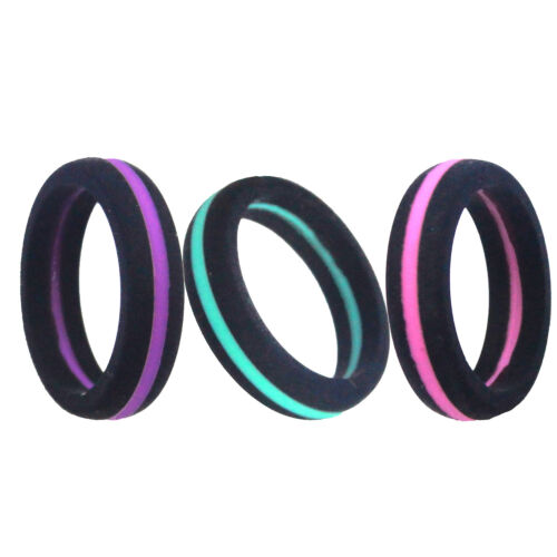 6mm Women's Silicone Wedding Ring -NAK Fitness