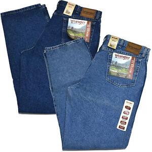 Wrangler-Jeans-Mens-Rugged-Wear-Relaxed-Fit-Medium-Vintage-Dark-Antique-35001