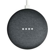 Google Home Mini Smart Speaker - Charcoal - Refurbished FFP + UK Plug