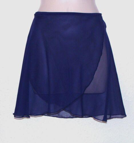 Ladies ballet dance wear self tie chiffon skirt