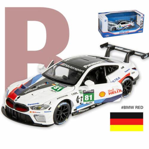 1//32 Scale BMW M8 GTE Le Mans 2018 Race Car Model Car Diecast Vehicle Collection