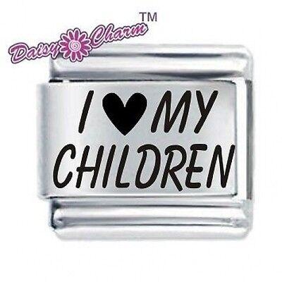 DAISY CHARM by JSC Italian Charm I LOVE MY CHILDREN (l)