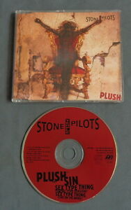 STONE TEMPLE PILOTS PLush CD MAXI SINGLE 4 tr 1993 Germany ATLANTIC 7567-85751-2