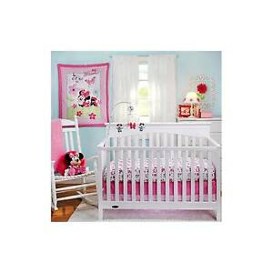 Disney Baby Minnie Mouse Musical Crib Mobile Butterfly Flower