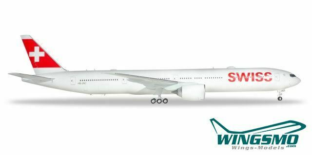 Herpa Wings Swiss International Airlines Boeing 777-300er 559317