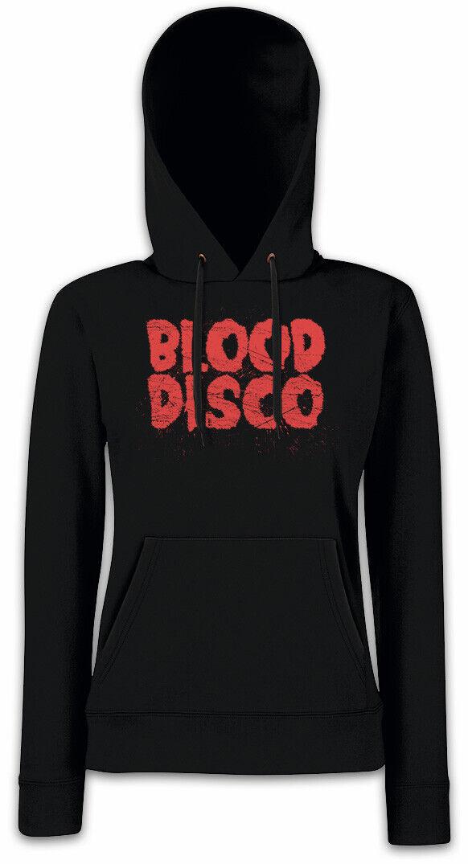 Blood Blood Blood Disco Damen Hoodie Kapuzenpullover Glow Wrestling Zoya Sign Symbol Show   | Günstige Preise  b6c31f