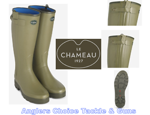 Le Chameau Chasseur Neoprene Lined With Zip Mens and Ladies