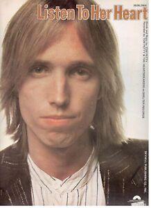"""""""tom Petty-écouter Son Cœur"""" Piano/vocal/chords Partitions - 1978-new - Rare!!!-ords Sheet Music-1978-new-rare!! Fr-fr Afficher Le Titre D'origine"""