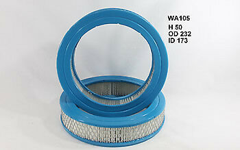 Wesfil Air Filter WA105 fits Holden Astra 1.5 (LB,LC), 1.6 CD (LB,LC)