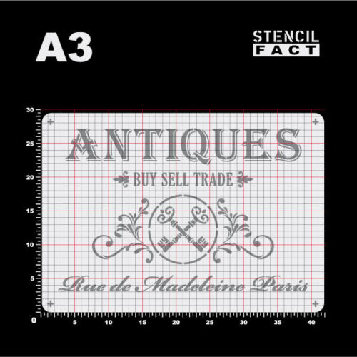 A3 Schablone Antiques Buy Sell Trade Vintage BS328