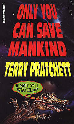 Only You Can Save Mankind (Johnny Maxwell), Pratchett, Terry | Used Book, Fast D