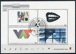 Bund-Block-39-gestempelt-Bonn-ESST-BRD-1927-1930-Documenta-Kassel-used