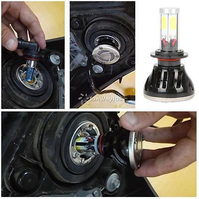 LED Headlights 80W 8000LM CREE H7 Vehicle Conversion Kit Bulb 6000K White IP68