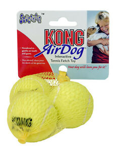 KONG-AIR-DOG-INTERACTIVE-SQUEAKY-TENNIS-BALL-PUPPY-DOG-TOY-ALL-SIZES-small-bite