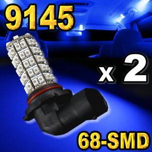 9145-9140-H10-Blue-68-SMD-LED-Bulbs-For-Driving-Fog-Light-2-pcs