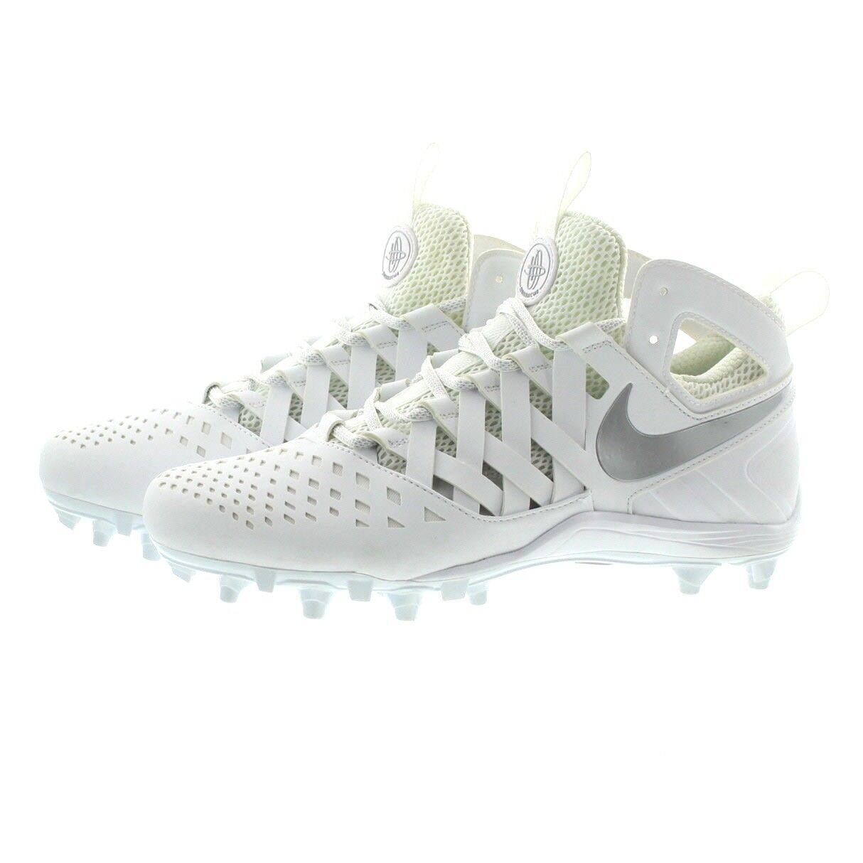 Nike 807142 Mens Huarache V Mid LAX Lightweight Lacrosse shoes Cleats