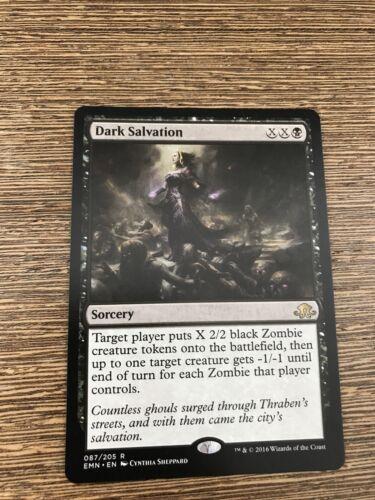 Details about  /MTG Dark Salvation ~ Eldritch Moon Magic Excellent+
