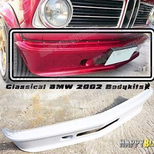 Details about 1968-1974 PRIMED BMW 2002 TURBO FRONT LIP SPOILER SPLITTER  FRP material