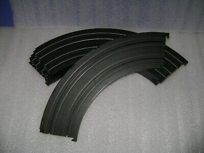 "6pc 1982 Aurora AFX HO Model Motor Racing 1//4 9/"" LAZER CURVE Track 2519 Unused"