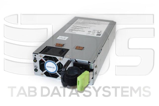 341-0490-02 PS-2651-1-LF CISCO 650W PLATINUM 80 POWER SUPPLY FOR C220 M3