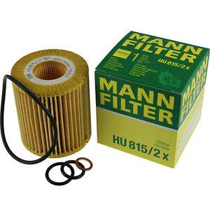 Original-MANN-FILTER-Olfilter-Oelfilter-HU-815-2-x-Oil-Filter
