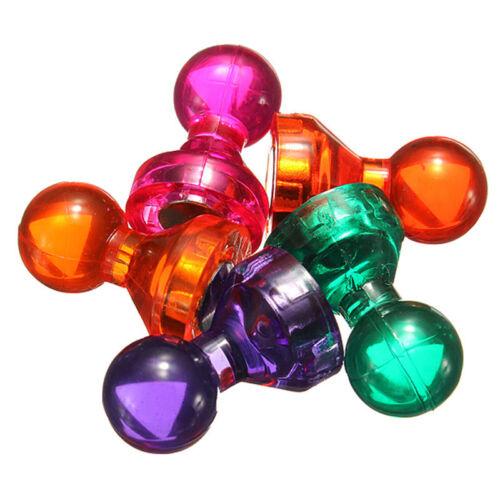Strong Magnets Fridge Memo Magnet Push Pin Skittle Notice Board