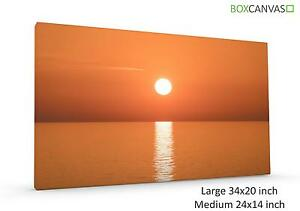 Modern Photo Canvas S4  Italy 22 Sunrise