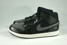 buy online ae7bd 87fb8 item 3 Nike Air Jordan 1 Mid Premium Black Grey and Red Shoes 852542 001  Men s Sz 11 -Nike Air Jordan 1 Mid Premium Black Grey and Red Shoes 852542  001 ...