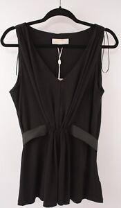 MICHAEL-KORS-Women-039-s-Black-Top-size-LARGE